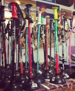 Ski Pole Plungers
