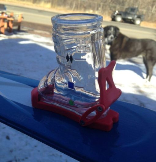 Colorado Shot Glass Ski