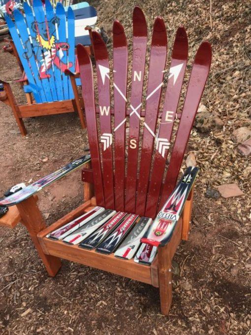 Crossed Arrows Ski Chair
