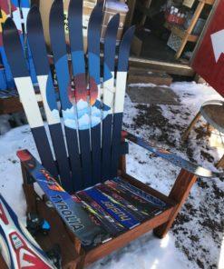 Colorado Sunset Telescope Ski Chair
