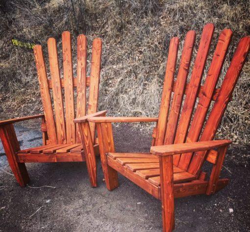 """Colorado Ski Furniture XXL 72"""" (6 feet) Tall Giant Oversize Adirondack chair"""