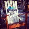 """US ski team XXL chair Colorado Ski Furniture XXL 72"""" (6 feet) Tall Giant Oversize Adirondack chair"""