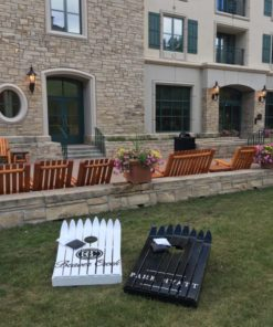 custom ski cornhole sets beaver creek park hyatt