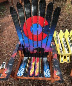 Colorado Flag Northern Lights Bear chair
