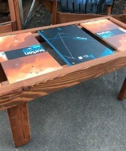 Snowboard Coffee Table