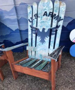 US ARMY HYBRID SKI & SNOWBOARD CHAIR