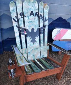 US ARMY HYBRID SKI & SNOWBOARD CHAIR