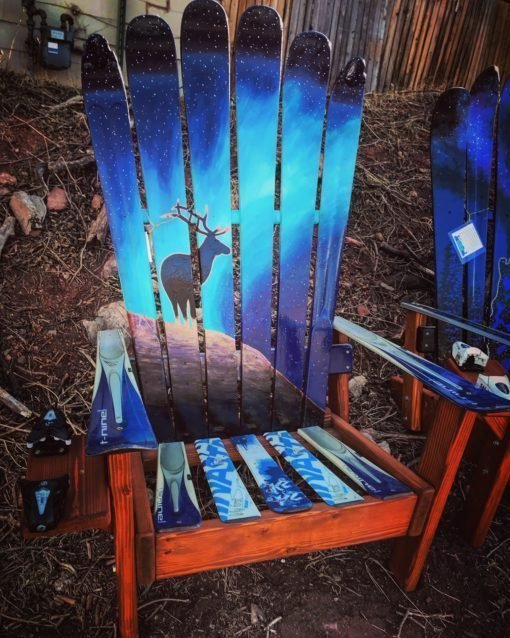 Elk Northern Lights Adirondack Ski Chair