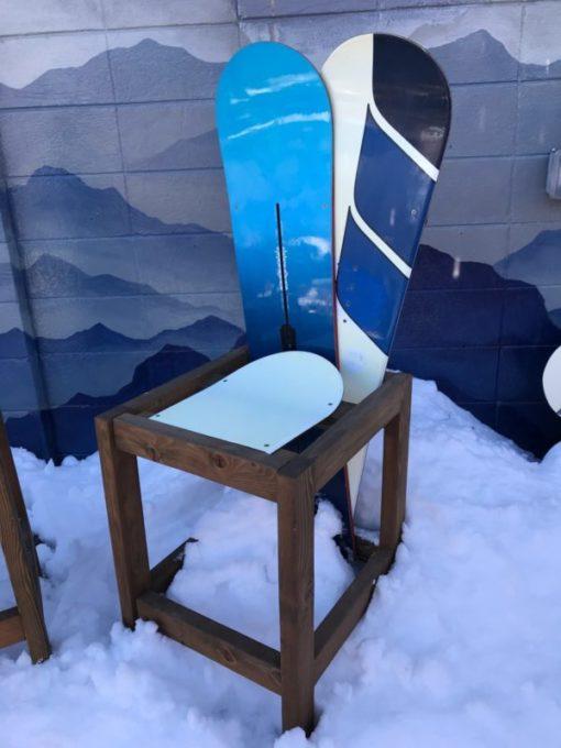 Snowboard Bar Stool