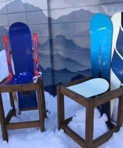 Snowboard Bar Stools