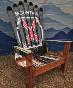 10th Mountain Division Adirondack Ski Chair