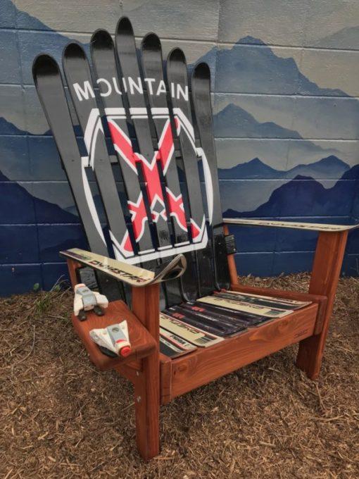 10th Mountain Division Adirondack Ski Chair