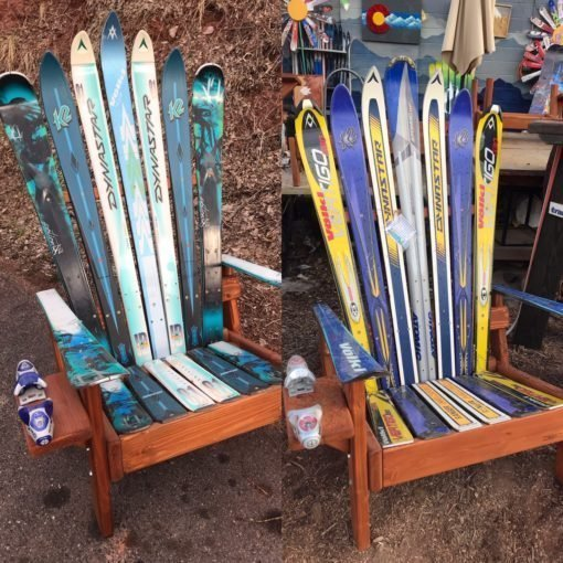 adirondack ski chairs sets