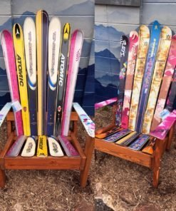 adirondack ski chairs sets