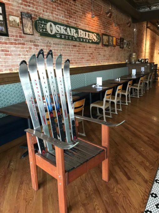 Iron Ski Throne