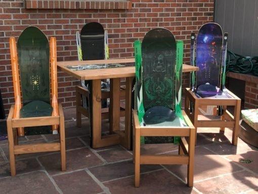 snowboard patio sets