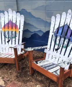 Handmade in Colorado - Adam Vernon Colorado Springs - Colorado Ski Chairs