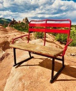 Colorado Ski Chairs Garden of the Gods Colorado Springs