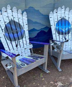 Aspen Tree Mountain Adirondack Ski Chair