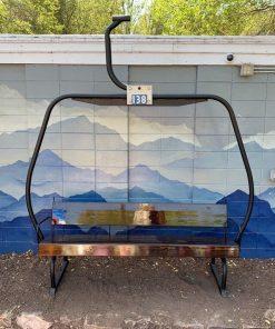 Ski Lift Bench