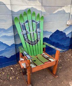 De Opresso Liber Ski Chair