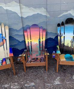 Assorted Arizona Ski Chairs