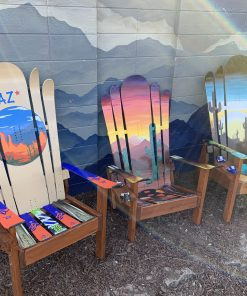Assorted Arizona Ski Chairs