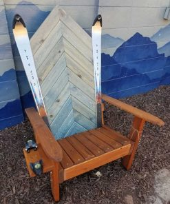 Wooden.Ski Chair