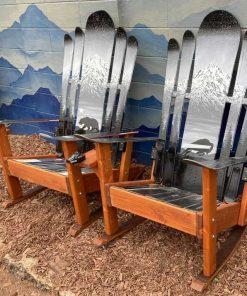 Mountain Night Sky Hybrid Chair