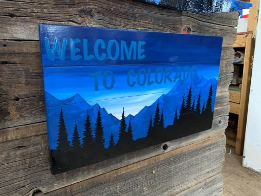 Welcome To Colorado Wall Art