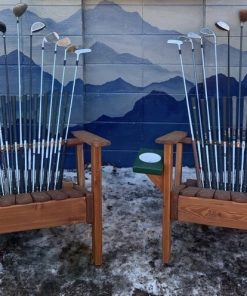 Adirondack golf club chairs