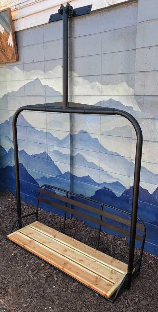 Repurposed skilift bench