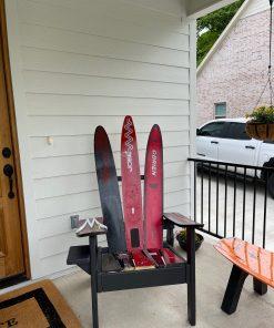 Repurposed Adirondack water ski ski chair