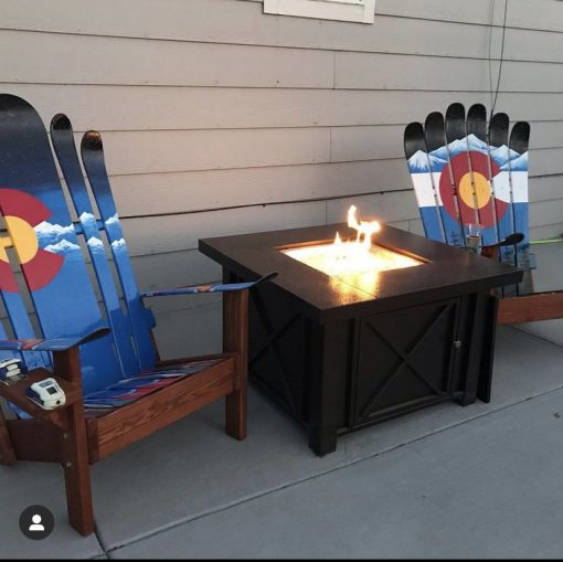 Hybrid Colorado Adirondack ski/snowboard chairs