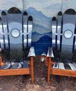 Monochromatic Colorado Mystic mountain hybrid ski/snowboard chair